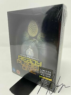 Ready Player One Titans of Cult Limited Edition Steelbook (4K Ultra HD/Blu-ray)