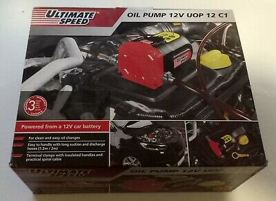 Ultimate Speed 12v UOP 12 C1, Suction Pump For Engine Oil, Heating Oil & Diesel.
