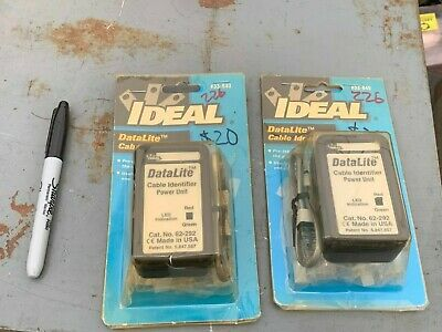 Ideal DataLite Cable Identifier P/N 62-292 (Lot of 2)