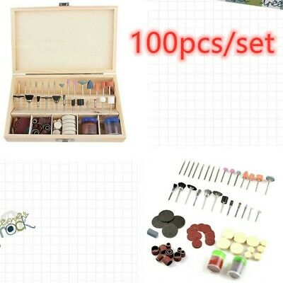 100pcs/BOX  Rotary Power Drill Tool Accessory Kit For DIY polished engravi New