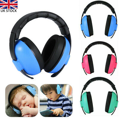 Baby Kids Ear Defenders Newborn Childrens Muffs Noise Reduction Protectors Child