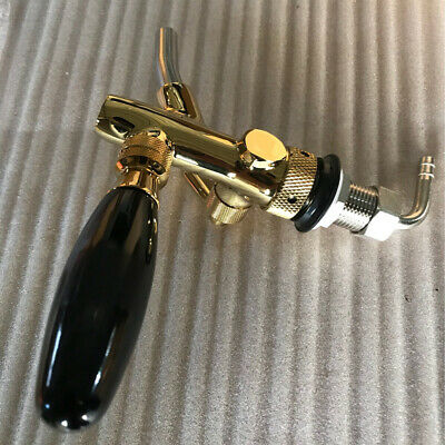 Beer Faucet G5/8 Shank Stainless Steel Flow Controller Wine Adjustable Tap Home