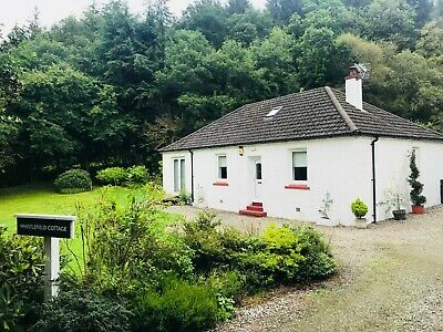Whistlefield Cottage on Loch Eck - Scottish Holiday Home/House for Sale