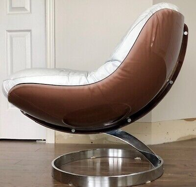 Rare Sphere chair by Boris Tabacoff for MMM  1970 Mid Century Space Age