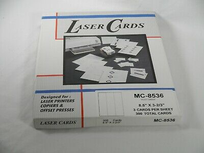 2 boxes, COMPULABEL LASER CARD STOCK MC-8536, Printers, Copiers, Offset Presses