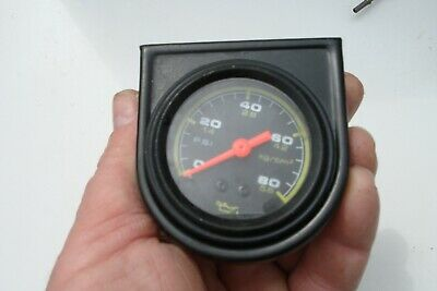 Red Needle Oil Pressure Gauge With With Fixing Plinth Ford Triumph Jaguar Rally