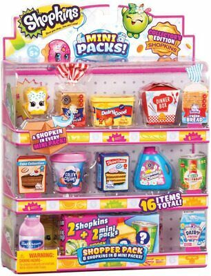 Shopkins Mini Packs Shopper Pack Assortment