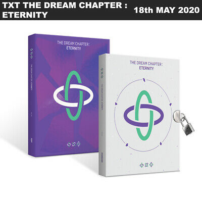 TXT TOMORROW X TOGETHER THE DREAM CHAPTER : ETERNITY CD+Photobook+Photocard+Etc