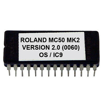Roland MC-50 V 2.00 Upgrade Eprom Firmware Latest for MC50 Sequencer MK2 Mkii