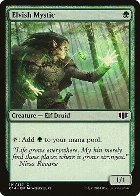 Wood Elves Commander 2015 NM Green Common MAGIC THE GATHERING CARD ABUGames