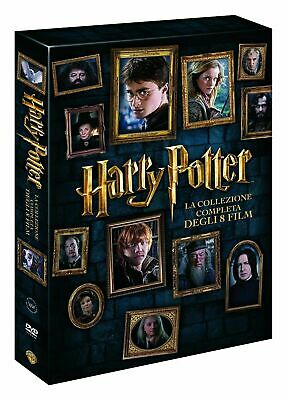 Harry Potter-Collezione Completa (8 DVD) Cofanetto Saga Collection new sigillata
