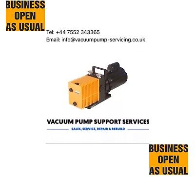 Alcatel 2004a Vacuum Pump-SERVICED-WARRANTY-£345 INC VAT Edwards Leybold Lab Knf