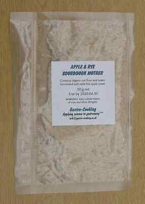 Apple Rye Sourdough Mother Starter Live Culture - Buy Once, Grow Forever