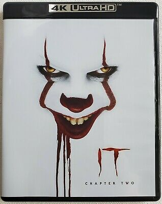 It: Chapter 2 4K Ultra Hd Blu Ray 3 Disc Set Pennywise Free Worldwide Shipping