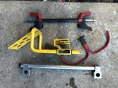 Assorted Stryker Rugged stretcher gurney Accesories