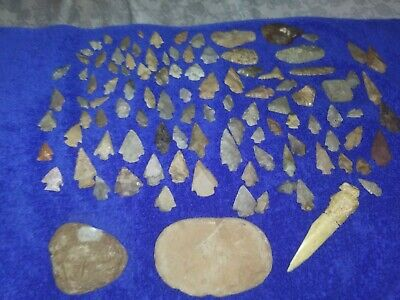 Native American Artifacts... Points, Arrowheads, Knives, Blades, Tools,
