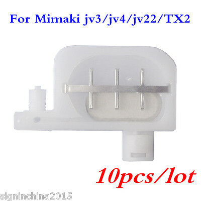 10PCS* Mimaki JV-3 / JV-4 / JV-22 / Mimaki TX2 Small Damper with Big Filter