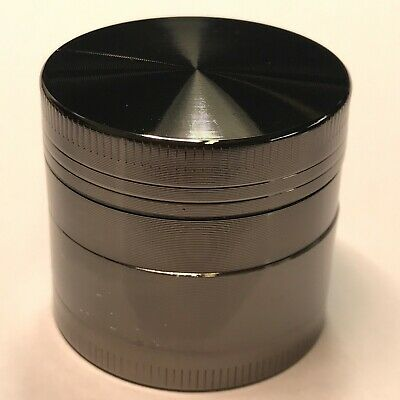1.5 Inch 4 Piece Metal Dry Herbal Herb Spice Smoke Tobacco Grinder Alloy Crusher