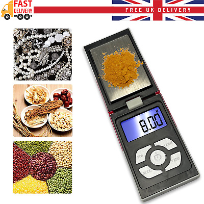 Digital Electronic Small LCD Pocket Scale for Weighing Gold Jewellery 0.1g-500g