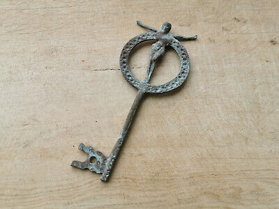 Wood Door Keys, Iron Keys, Skeleton Key, Old Keys,Ottoman Rustic Keys 9x24cm
