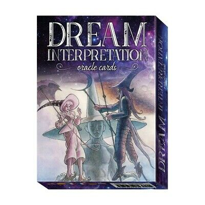 Dream Interpretation Oracle Cards Deck Esoteric Future Telling Lo Scarabeo New