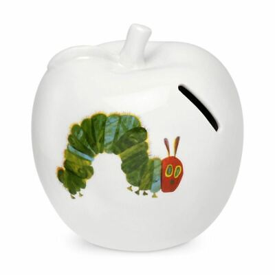 Port Meirion - Very Hungry Caterpillar Money Box - 3D Apple (Pack of 2)