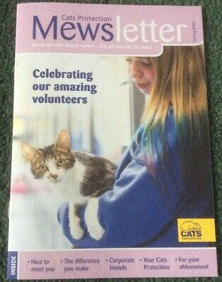 Mewsletter Cats Protection Magazine. Issue Spring 2020