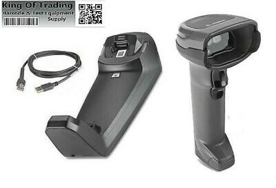 Zebra DS8178 Series Cordless Handheld Scanner Kit with USB Cable and Battery
