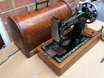 Antique Singer 99K Handcrank sewing machine