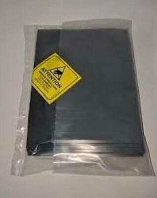 """100 4""""x6"""" ESD Anti-Static Discharge Shielding Bags Open-Top Lead-Free Computer"""