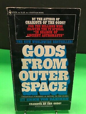 Gods From Outer Space Erich Von Daniken (Chariots of the Gods) Paperback Photos