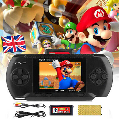 Pvp 3000 Handheld Portable Retro Video Game Console 8 Bit Kid Player Kids Gift