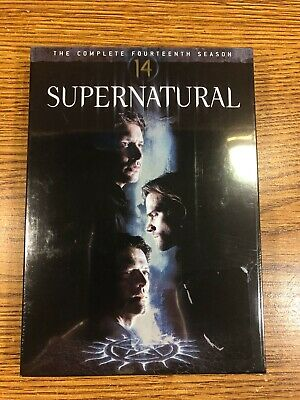 Supernatural The Complete Fourteenth Season Dvd 14 14Th Brand New Tv Sealed