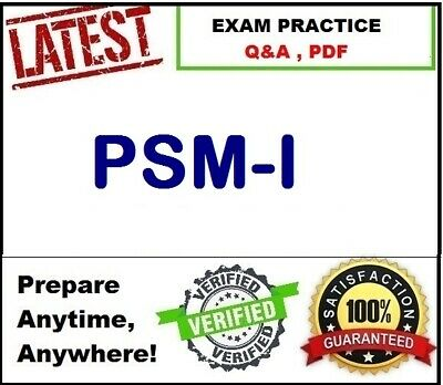 PSM-I	Scrum Professional Scrum Master I  EXAM Q&A