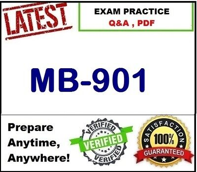MB-901 -Practice for Exam- Microsoft Dynamics 365 Fundamentals  - EXAM Q&A