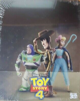 Toy Story 4 Steelbook 3D Et 2D  Blu Ray  Neuf Sous Cellophane