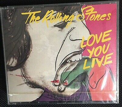 The Rolling Stones ‎– Love You Live - 2 CD First Print EU 5099745020829 - SEALED