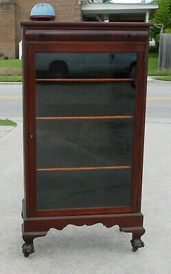 Small One Door Mahogany Bookcase circa1900