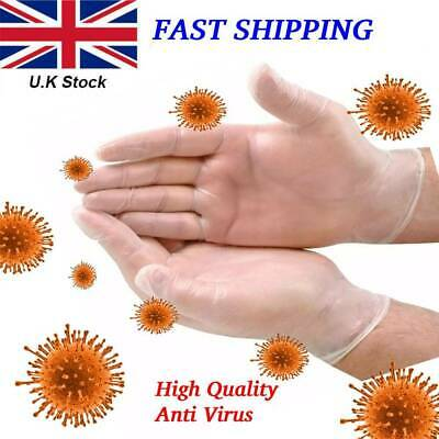 Vinyl Disposable Gloves Medical Powder Free Latex Free Gloves Clear Food Strong