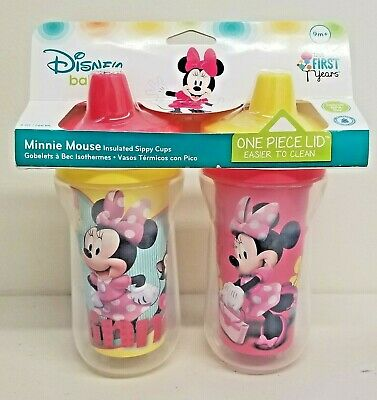 Disney The First Years Minnie Mouse Insulated Sippy Cup 9 Oz 2pk (9m+)
