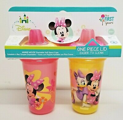 Disney The First Years Minnie Mouse Insulated Sippy Cup 9 Oz 2pk (6m+)