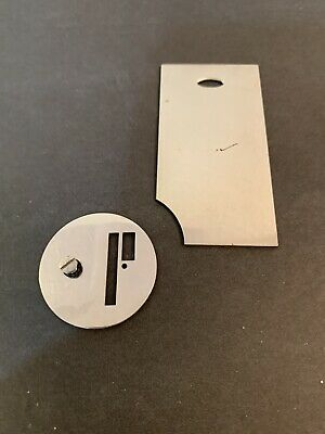Singer 128 28 Sewing Machine Rear Bobbin Slide & Throat Plates 1938 54512 8240