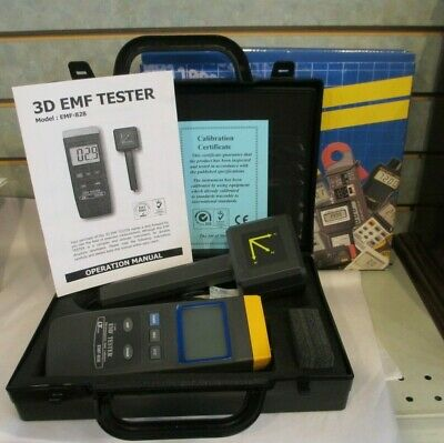 Digital Instruments 3D EMF TESTER Lutron EMF-828  3 Axis Electromagnetic Field