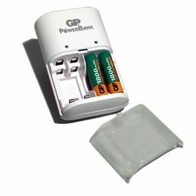 GP PowerBank Battery Charger for AA/AAA rechargeable NiMH batteries