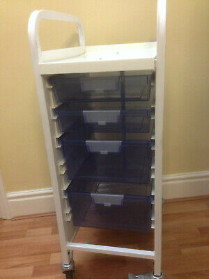 Sunflower 4 Drawer Compact Trolley, Medical, Dental, Podiatry, Beauty