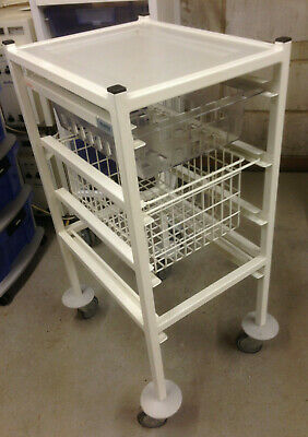 Stirling Systemed 2 Drawer Compact Trolley, Medical, Dental, Podiatry, Beauty