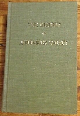CANADIANA Reprint The History of the County of Middlesex Ontario Canada Pub 1972