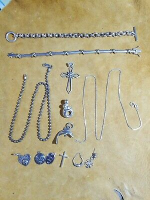 Sterling Silver Jewelry Lot - 80+ Grams - All Sterling or 925 - NO SCRAP