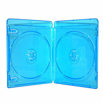 2-Disc (Double) Blu-Ray Case - Package of 5 cases