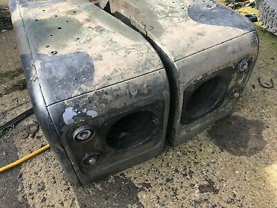 Genuine Land Rover Series 3 Military Front Wings pair